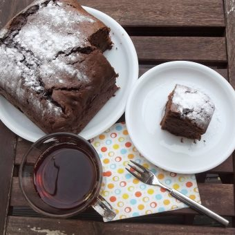 Chocoladecake met rode bietjes en sinaasappel_2