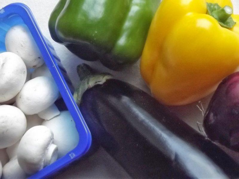 enchilada's met geroosterde groenten