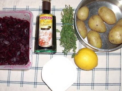aardappel-bietensalade