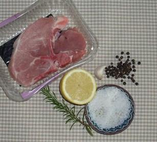 karbonade in citroen-rozemarijn marinade