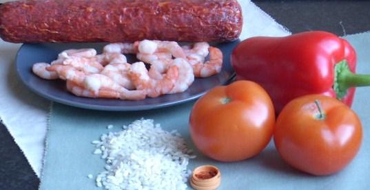 snelle paella