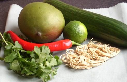 thaise rosbiefsalade met mango