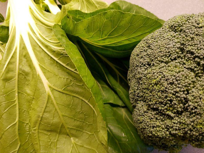 Chinese runderstoof met broccoli en paksoi
