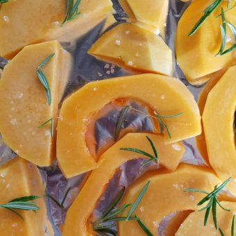 Lasagne met pompoen saucijzen rozemarijn 3