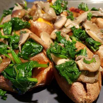 Geroosterde zoete aardappel 2