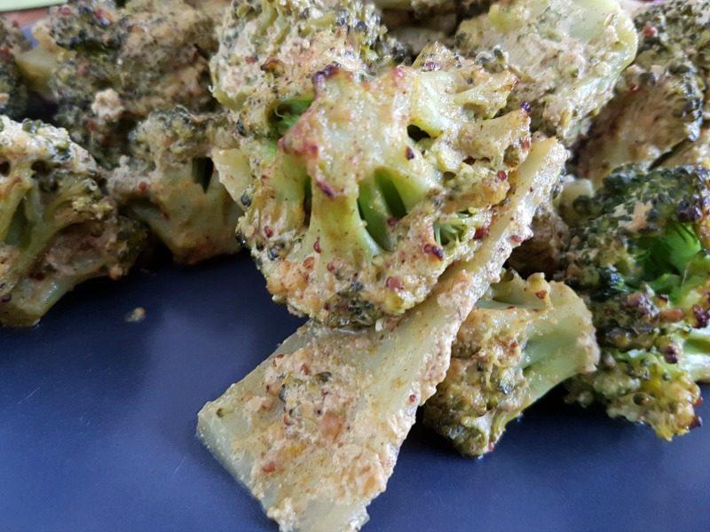 Geroosterde broccoli met Indiase specerijen