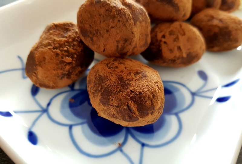 Basic pure chocoladetruffels