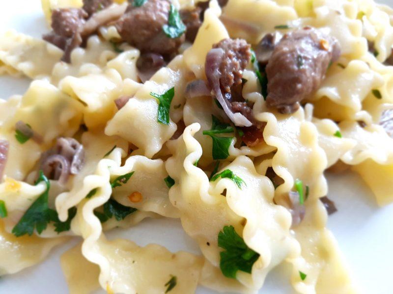 Jamies pasta met wilde paddenstoelen