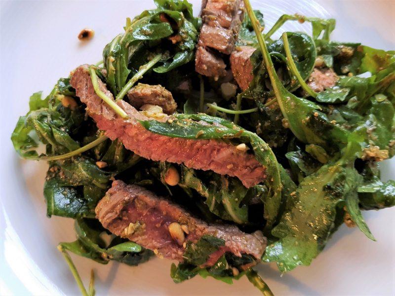 Italiaanse steaksalade