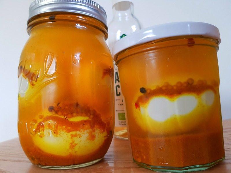 Kurkuma-eieren