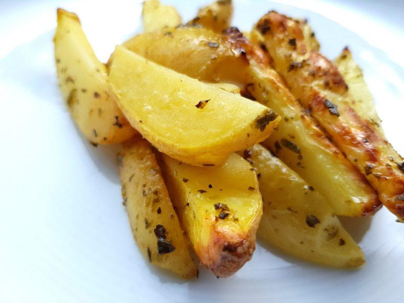 Geroosterde citroenaardappelen