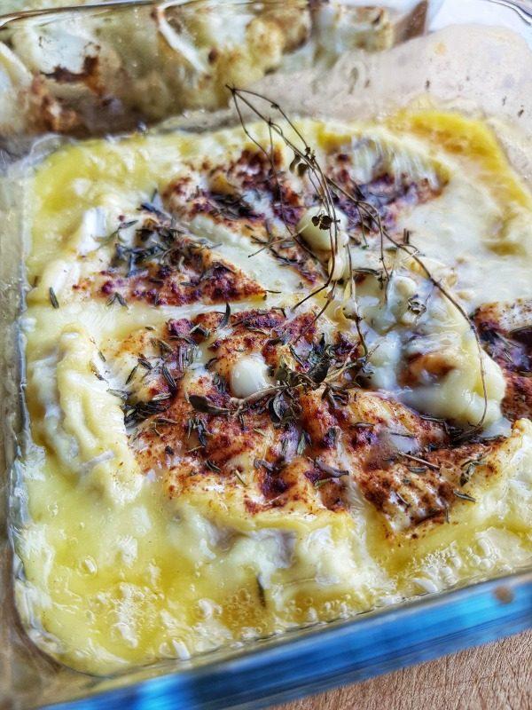 Gebakken camembert