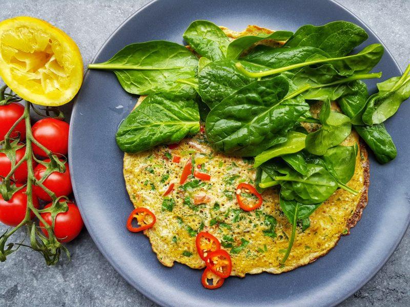 Bombay omelet